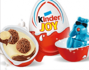 kinder chocolate eggs toys inside