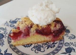 how to make german plum cake