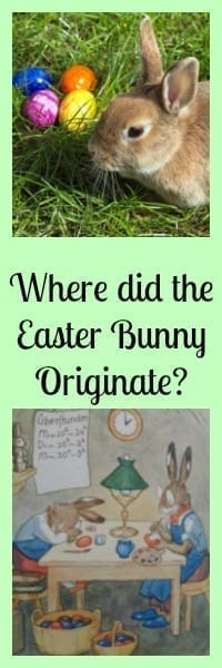 where did easter bunny originate