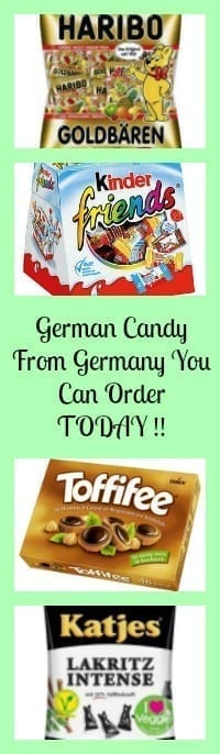 German Candy from Germany That You can Order Today