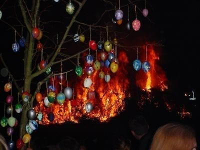 What is the Easter Fire in Germany?