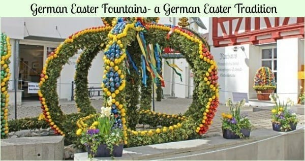 german easter fountains