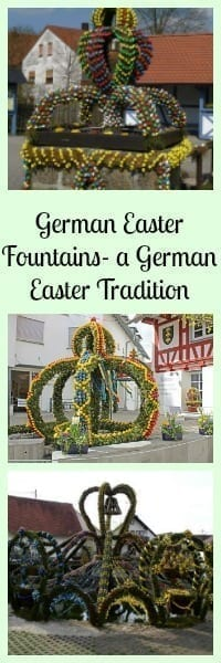 german easter fountians