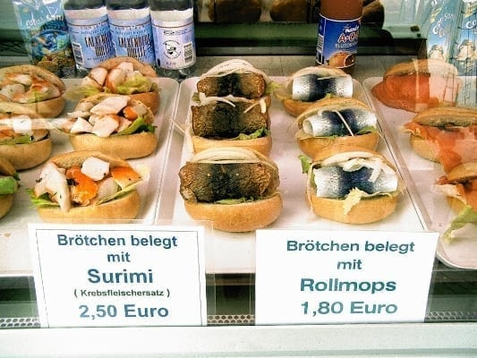 Foods to eat in Germany