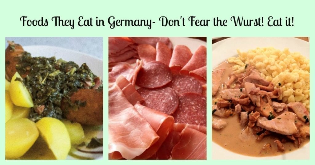 food they eat in germany