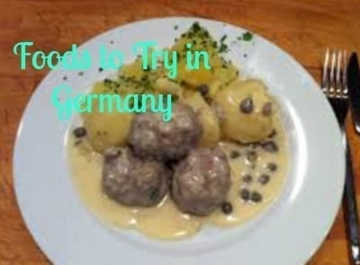 foods try germany