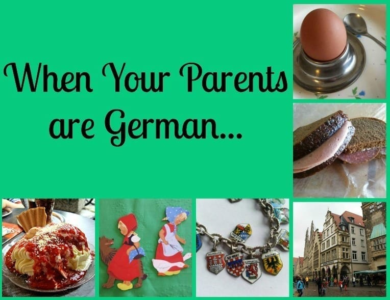 growing up german