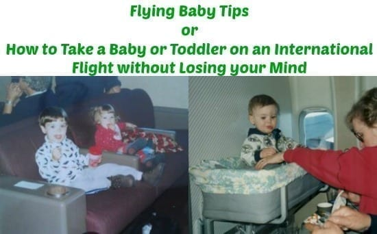 flying baby tips