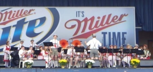 Plymouth Junge Kameraden Band- An American High School Band Playing German Music!