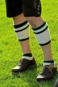 Lederhosen Socks men