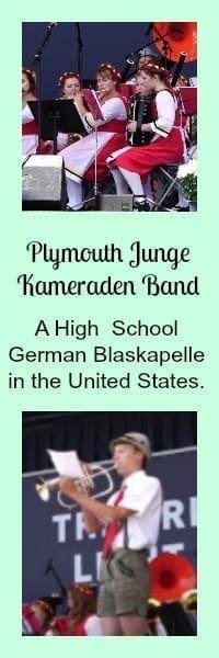 German high school Blaskapelle in the United States