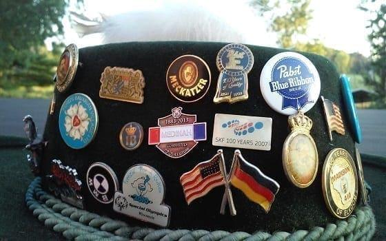 german alpine hat pins