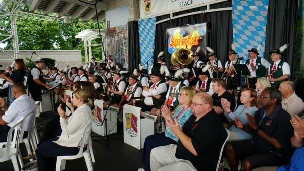 germanfest opening ceremonies