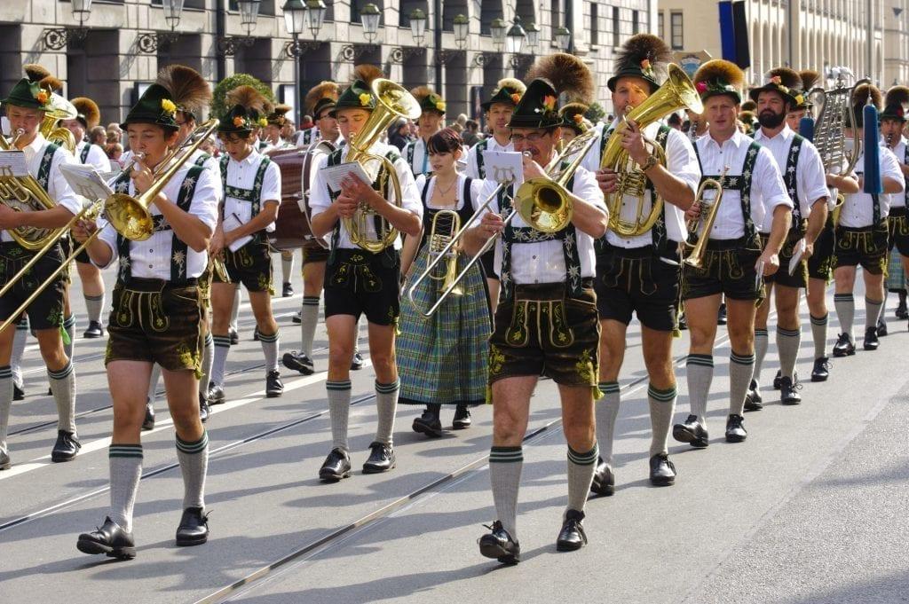 german oktoberfest songs