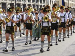 opening parade for Oktoberfest in Munich, Germany