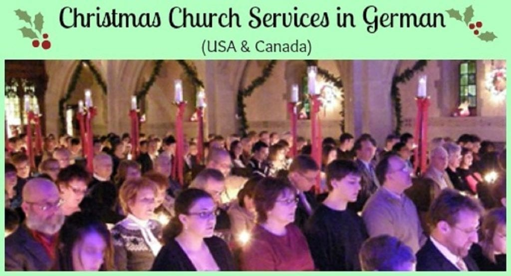 Christmas Church Services Near Me.Christmas Church Services In German Usa And Canada