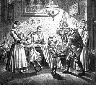 krampus german folklore