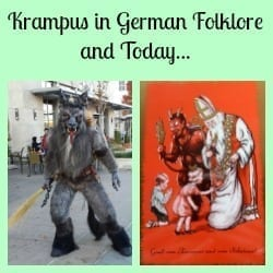 krampus in german folklore