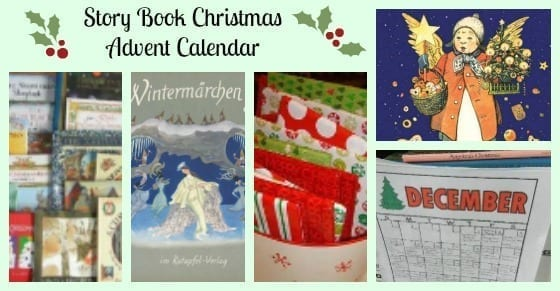 story christmas advent calendar