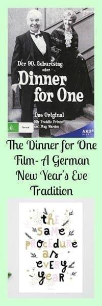 dinner for one film