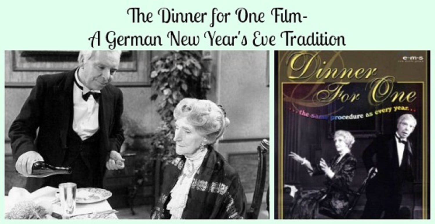 The Dinner for One Film- A German New Year's Eve Tradition