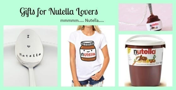 gifts nutella lovers