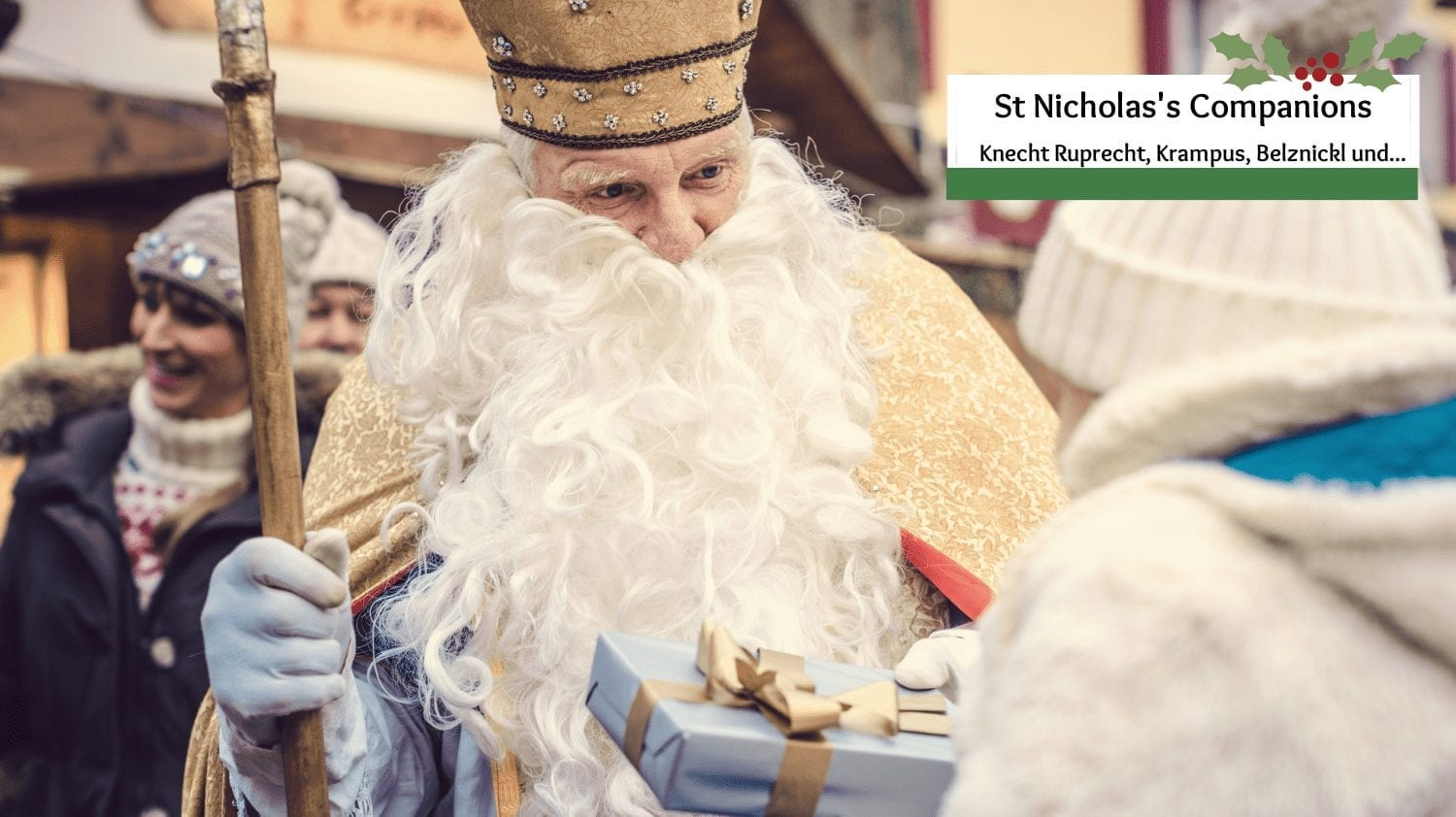 Who are the Companions St Nicholas Travels With?
