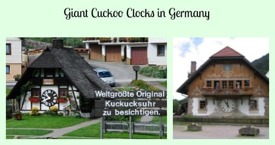 Giant Cuckoo Clocks Germany