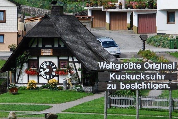 giant cuckoo clocks germany