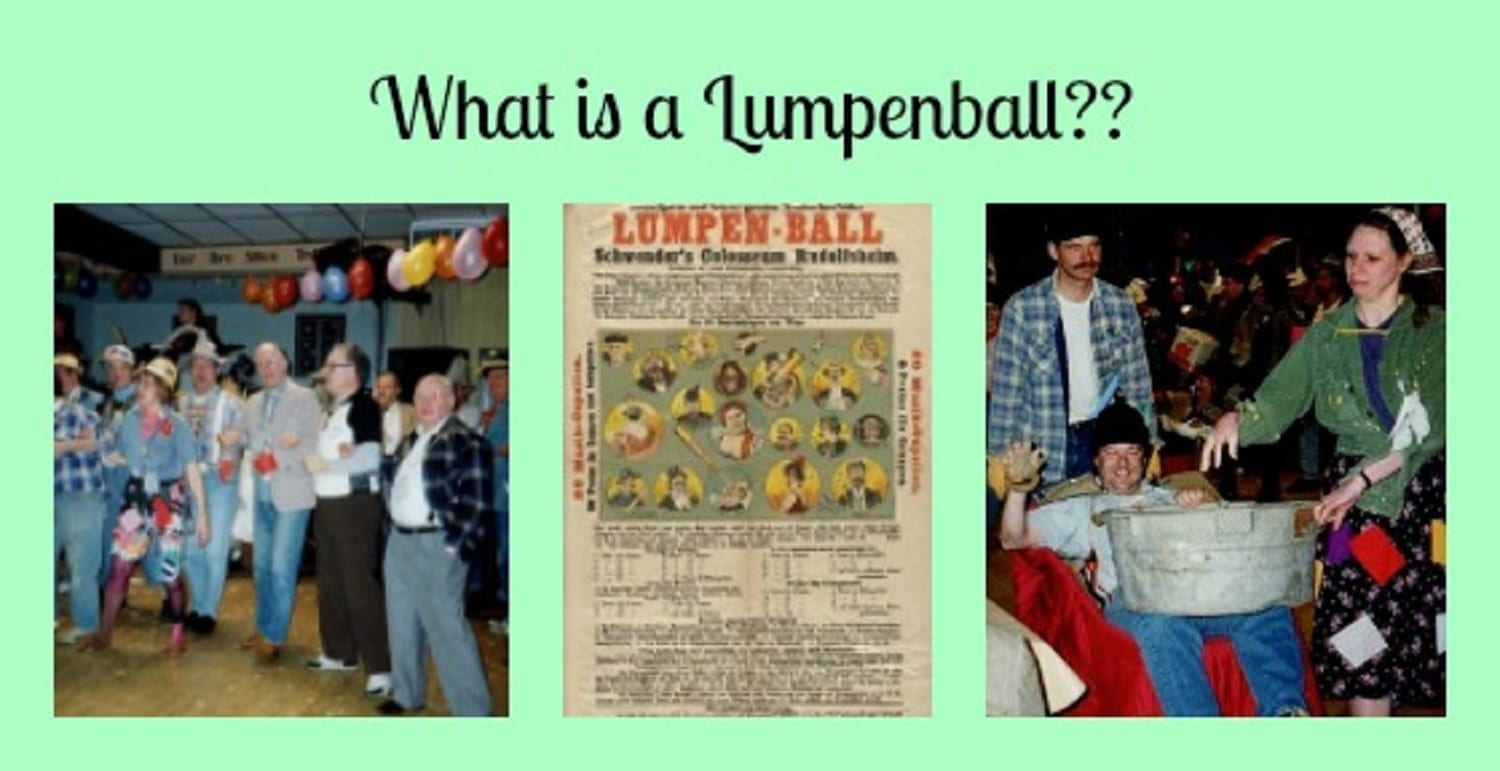 What is a Lumpenball? The End of the Karneval Party!