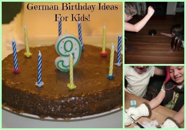 german birthday ideas