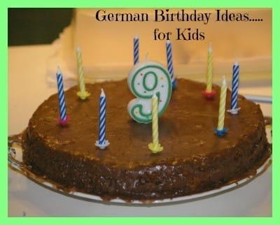 german birthday ideas 2