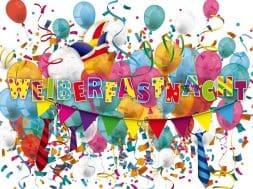 Weiberfastnacht Balloons Confetti