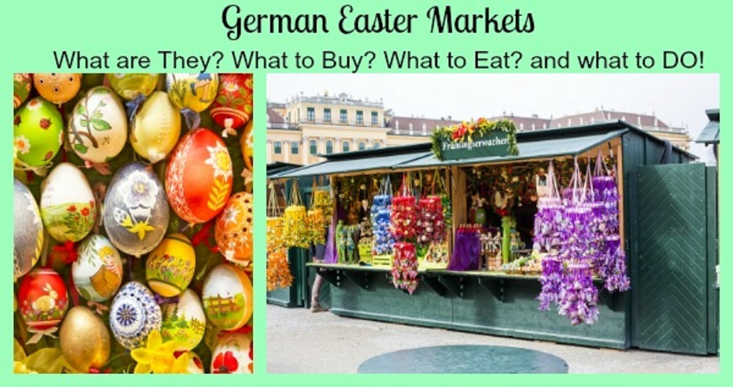 German Easter Markets – Easter Shopping In Germany