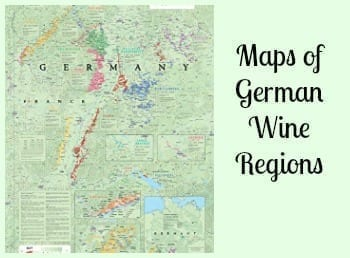 Maps of German Wine Regions- Plan and Remember Your Wine Adventure