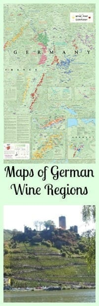maps of german wine regions