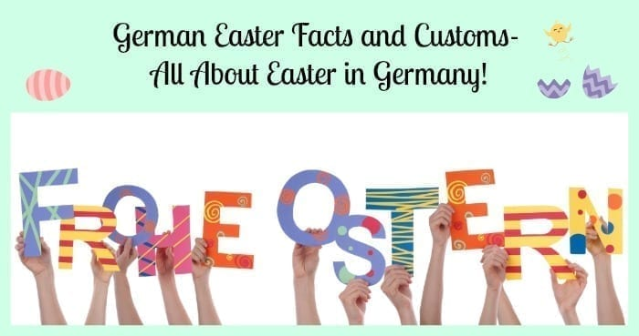 german easter facts