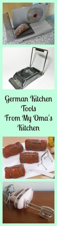 german kitchen tools