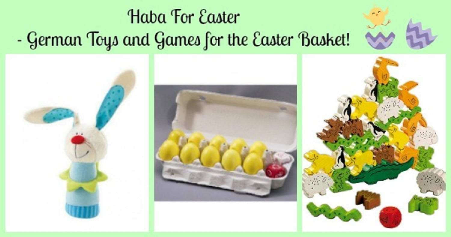 Haba For Easter- German Toys and Games for the Easter Basket!