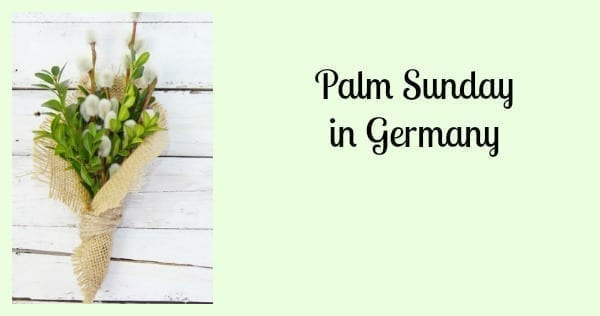 palm sunday in germany