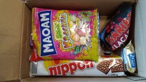 german candy box