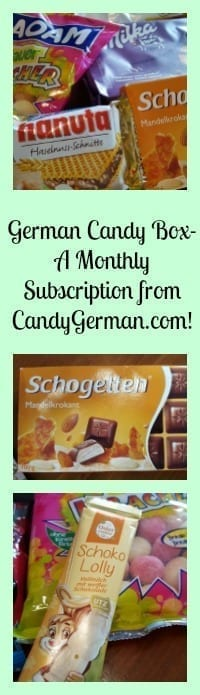 german candy box