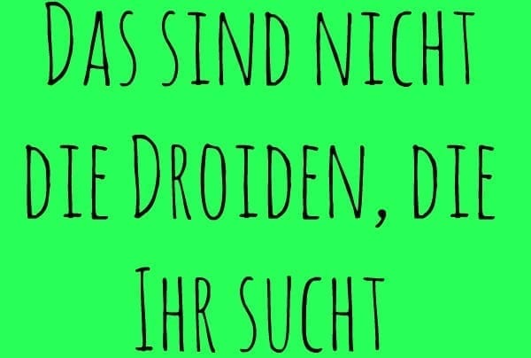 german star wars quotes