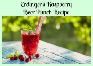 Erdinger's Raspberry Beer Punch Recipe – A German Weissbierbowle Recipe