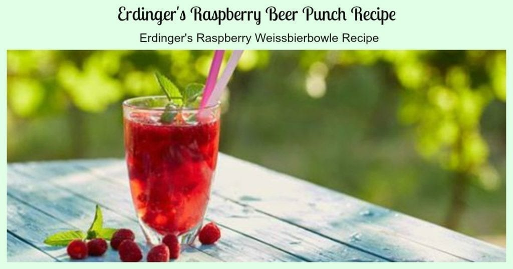 beer punch recipe