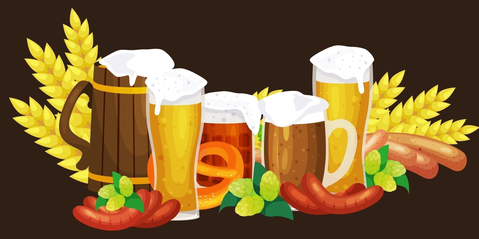 Where to Get a Beer in Munich… Munich Beer Halls, Beer Gardens and Oktoberfest