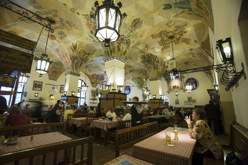 beer hall munich