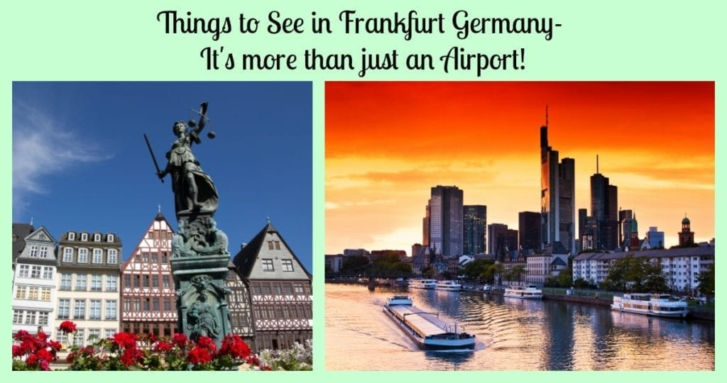 things to see frankfurt germany