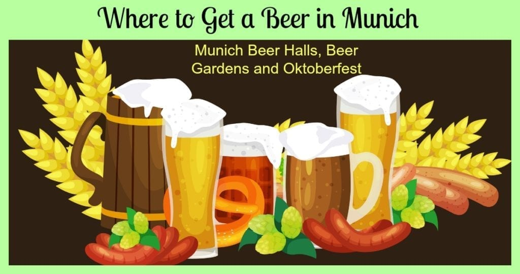 where to get a beer in munich