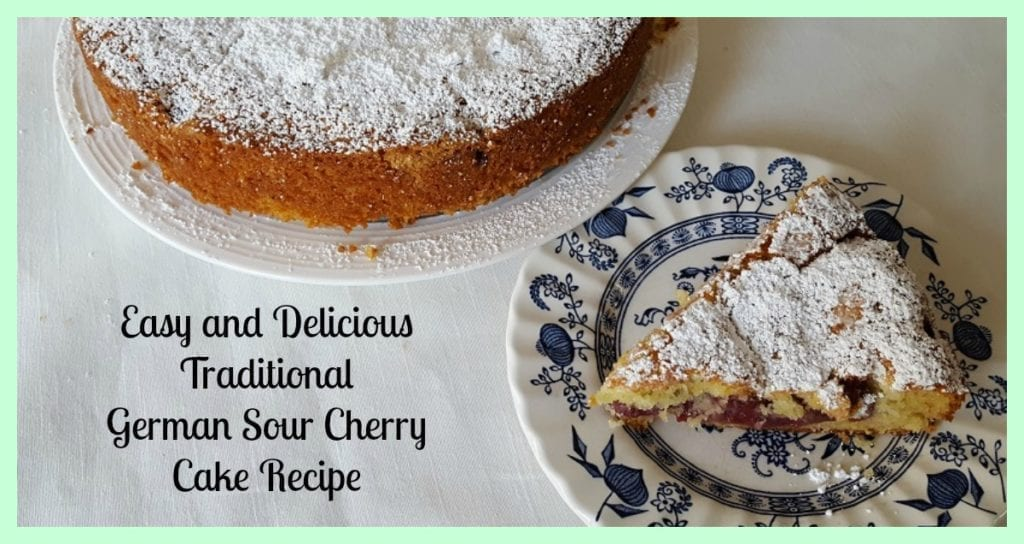 Easy and delicious german sour cherry cake recipe forumfinder Image collections